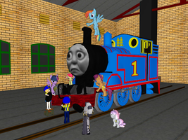 Thomas need Repairs by Tonypilot