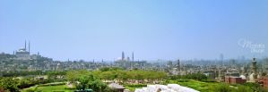 Panorama Cairo by Olwant