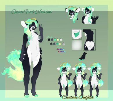 Space Goat/Deer Adopt[CLOSED] by WuriAdopts