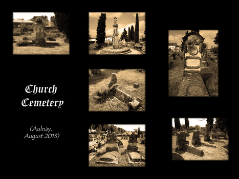 Church Cemetery by NaelCrea