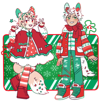 xmas sprinklets - $45 each (1/2) by raintie