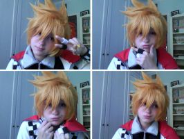 TEST: Roxas (Kingdom Hearts) by Feutre34