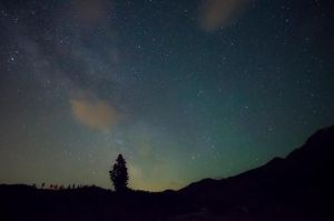 Milky Way from Mt. Home Road by Circusdog