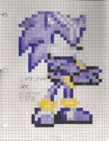 CE: DarkSpine Sonic (Graphing Paper) by WispTheKitty