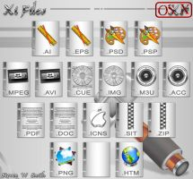 Xi Files OS X by Steve-Smith