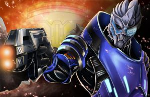 Garrus by WiL-Woods