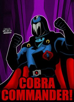 Cartoon Villains - 019 - Cobra Commander! by CreedStonegate