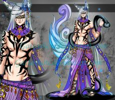 MALE ADOPT 84 [ Auction ] [ CLOSED ] by GattoAdopts