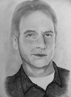 Drawing Gibbs NCIS by wylie-schatz