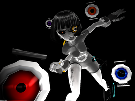 GLADoS, MMD by BlitzKreg-Trixie
