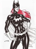 BATGIRL , SALE ON E-BAY AUCTION NOW !!! by carlosbragaART80