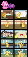 MLP: The Humiliation of Carrot Top by PerfectBlue97