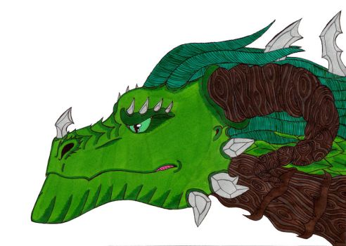 Earth Dragon by crescentwolf01