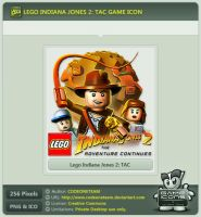 Lego Indiana Jones 2: The Adventure Continues Icon by CODEONETEAM