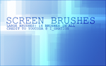 Screen Brushes by Coyr