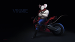 Vinnie - Biker Mice from Mars by LimonTea