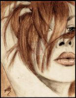 Ginger -At A Glance Colored- by BDLC