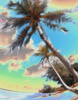Surreal Palms by SeanTiner