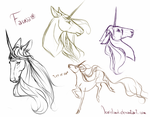 Fauna sketches by IceIsland