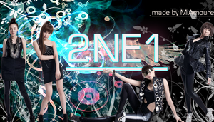 2NE1 Wallpaper by MiAmoure