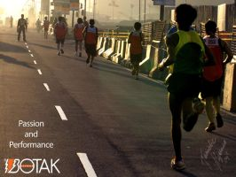 BOTAK Run 2 Wallpaper by tonieliemariae