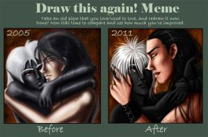 Before and after - meme by Zardra