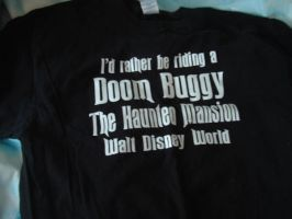 Haunted Mansion Shirt by Courage09