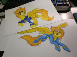 Just some Spitifires by Haganae