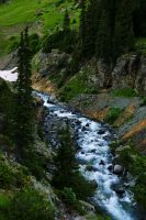 Mountain Stream by RollingFishays