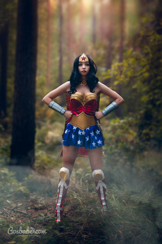 NEW Wonder Woman by Cosbabe
