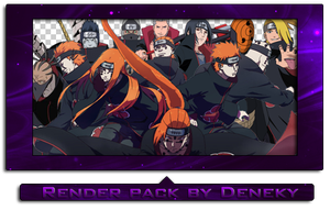 Akatsuki render pack by Deneky