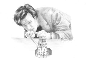 The Doctor and the Daleks by AliciaOrima