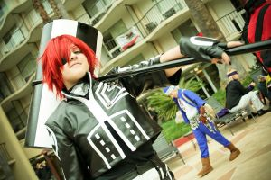 D Gray Man - 2nd Uniform - Lavi by ShinrasFlurry