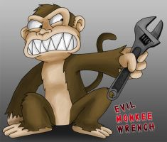 Evil Monkee Wrench by IreneLaMagra