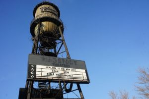 Trolley Square Water Tower by ChibiBatGraphics