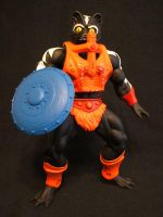 MOTUC Stinkor with shield by masterenglish
