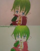 Before n After Amaimon by ZombiePenguinFreak