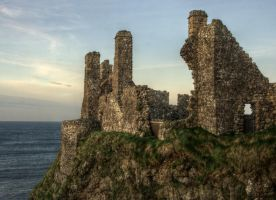 Dunluce Castle 1 by Isyala