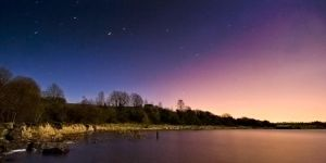 Lough Erne - Light Pollution by mole2k