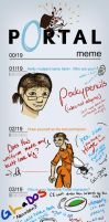 Portal Meme by PP by pockypencils