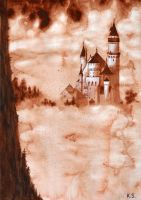 Neuschwanstein Castle by kazuyaI
