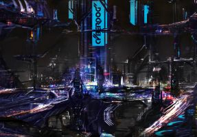 Cyberdog City by Shirtupboy