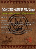 Back page Monster hunter by hadoc