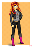 Sunset Shimmer by CosmicPonye