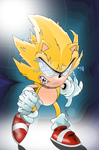 Super Sonic (Decent into madness) by Chacanger