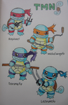 Teenage Mutant Ninja SQUIRTLES by Pizzasaur