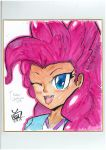 Head shot Character series #2  :PinkiePie by SapphireVision421