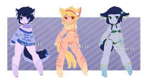 Adopt Set 2-OTA-OPEN by NekkoriAdopts