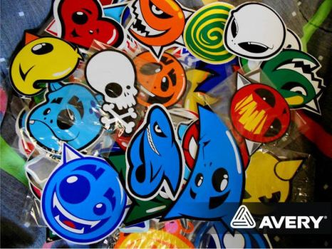 Stickers by Rotter-Damn