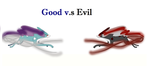 Good v.s Evil (pokemon) by XxdarkshadowclawxX